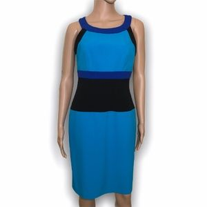 Calvin Klein colorblock dress